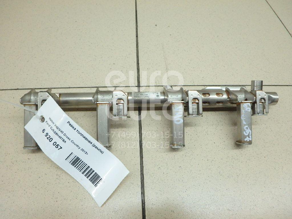 Купить Рейка топливная (рампа) Volvo V40/V40 Cross Country 2012-; (CJ5G9H487BA)