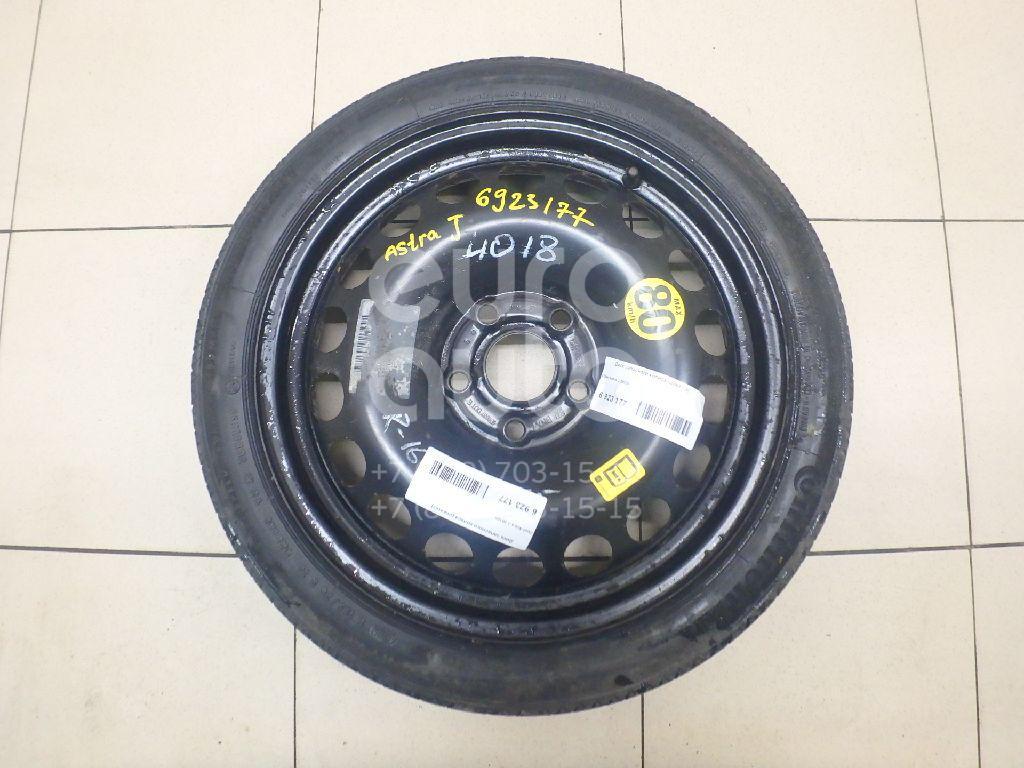Купить Диск запасного колеса (докатка) Opel Astra J 2010-; (1002563)