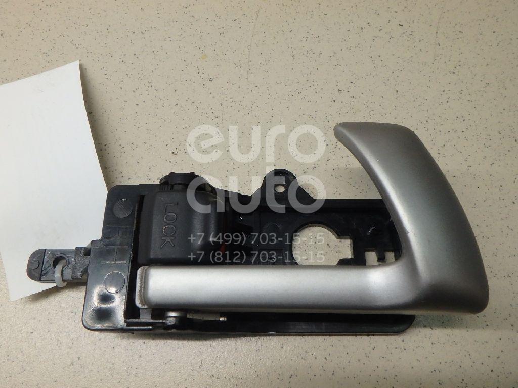 Купить Ручка двери передней внутренняя правая Hyundai Santa Fe (CM) 2006-2012; (826202B010WK)