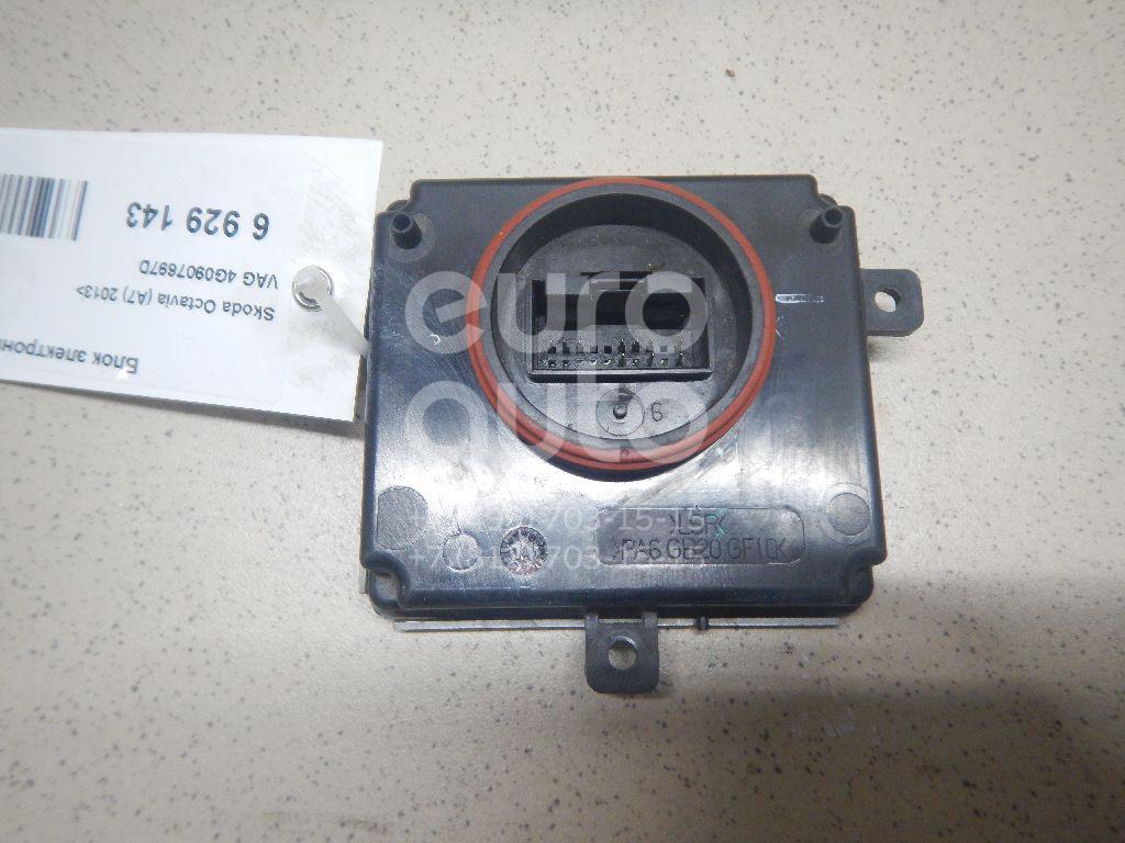 Купить Блок электронный Skoda Octavia (A7) 2013-; (4G0907697D)
