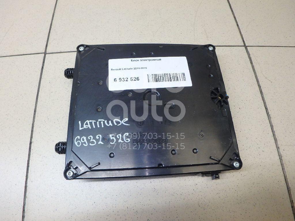 Купить Блок электронный Renault Latitude 2010-2015; (282751232R)