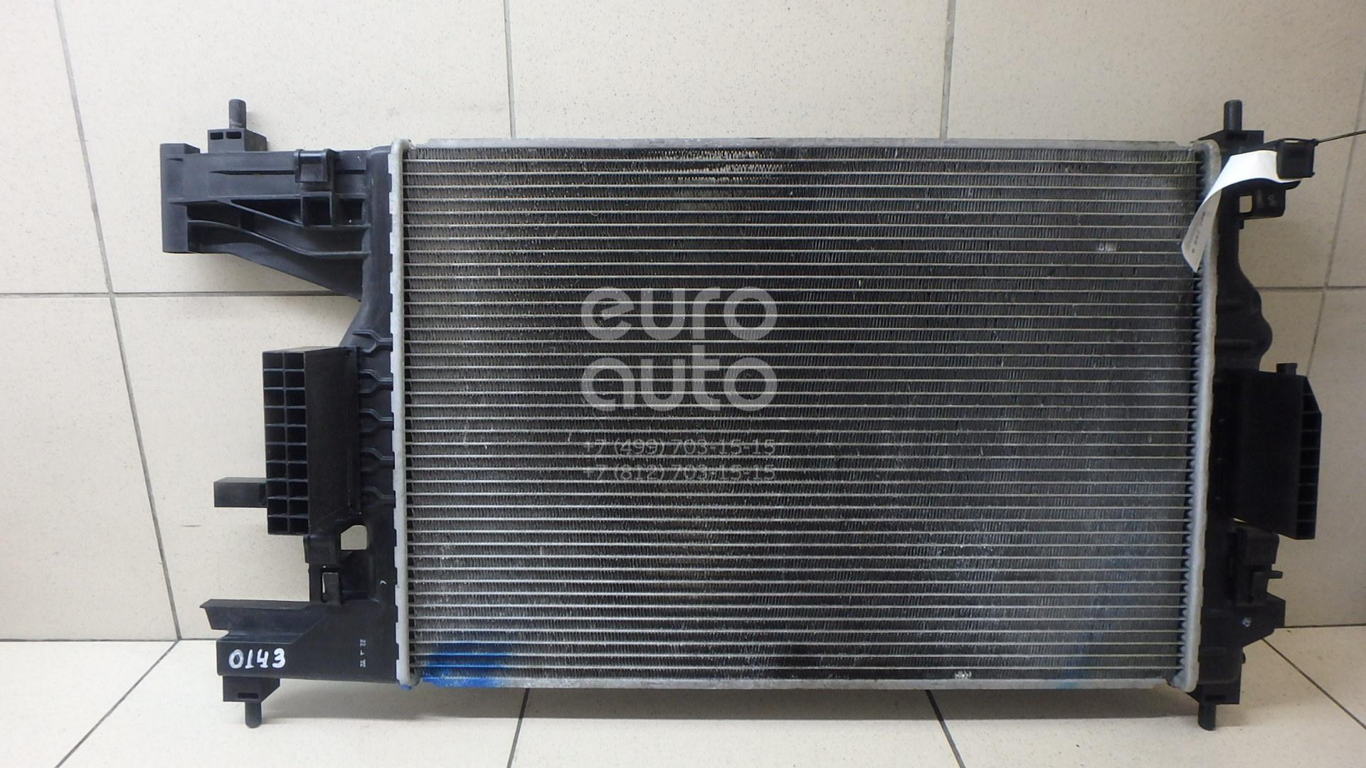 Радиатор основной Chevrolet Cruze 2009-2016; (13281773)