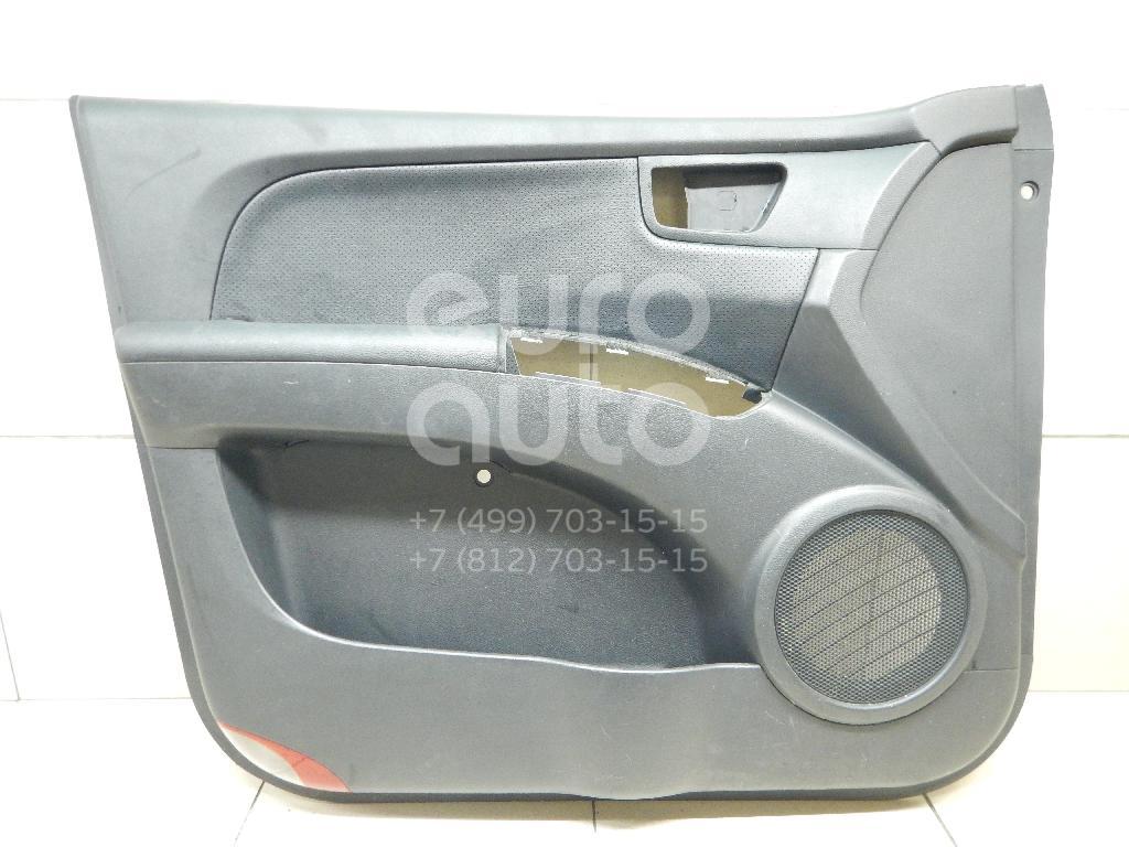 Обшивка двери передней левой Kia Sportage 2004-2010; (823011F050W3)