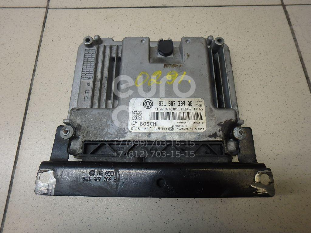 Купить Блок управления двигателем VW Tiguan 2011-2016; (03L906018E)