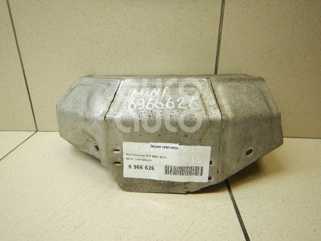 Купить Экран тепловой Mini Clubman R55 2007-2014; (18407584307)