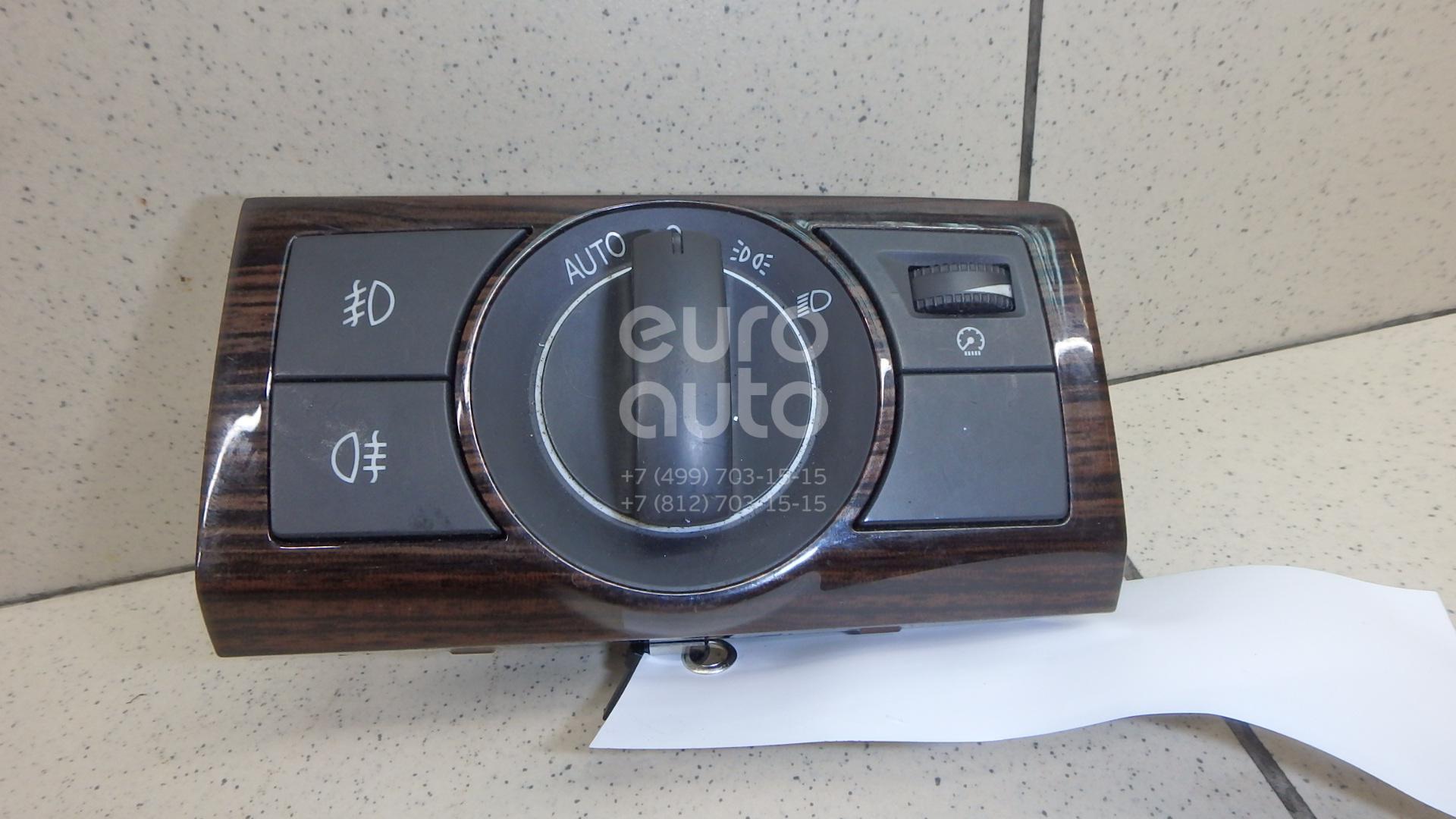 Купить Переключатель света фар Opel Meriva B 2010-; (96672913)