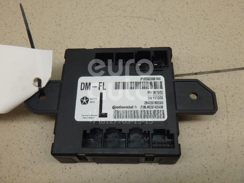 Купить Блок комфорта Chrysler Grand Voyager/Grand Caravan (RT) 2007-; (05026861AE)