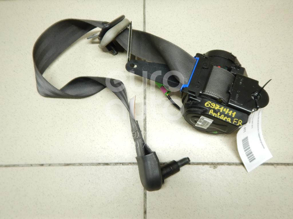 Ремень безопасности с пиропатроном Opel Antara 2007-2015; (96852899)  - купить со скидкой