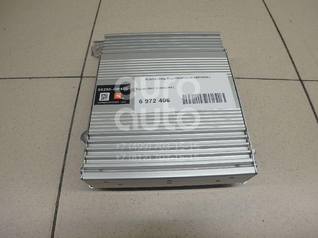 Усилитель акустической системы Toyota RAV 4 2006-2013; (862800W400)