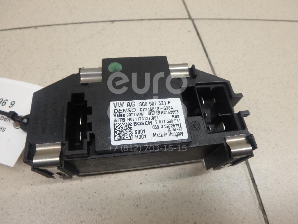 Купить Резистор отопителя Skoda Yeti 2009-; (3C0907521F)