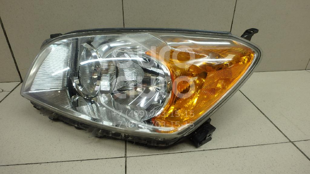 Купить Фара левая Toyota RAV 4 2006-2013; (8117042470)