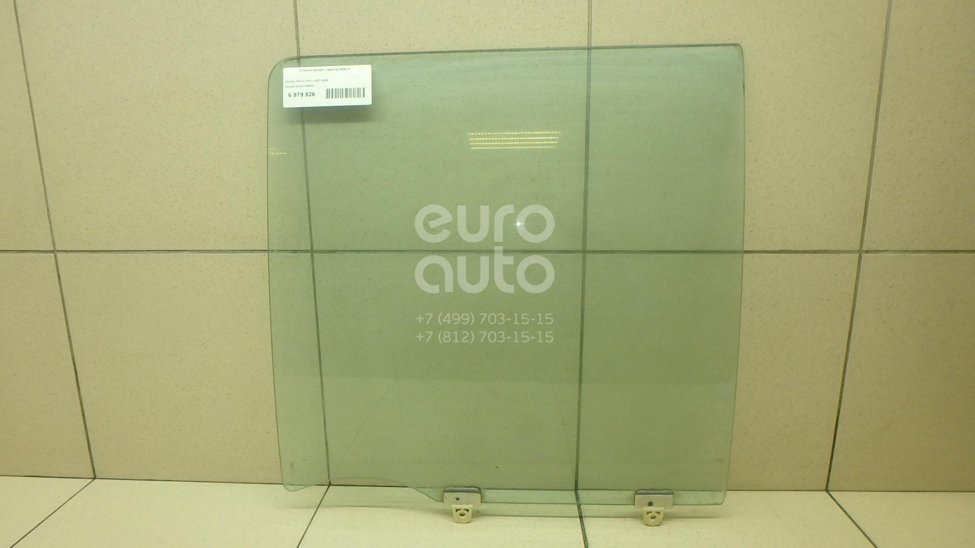 Стекло двери задней левой Nissan Patrol (Y61) 1997-2009; (82301VB000)  - купить со скидкой