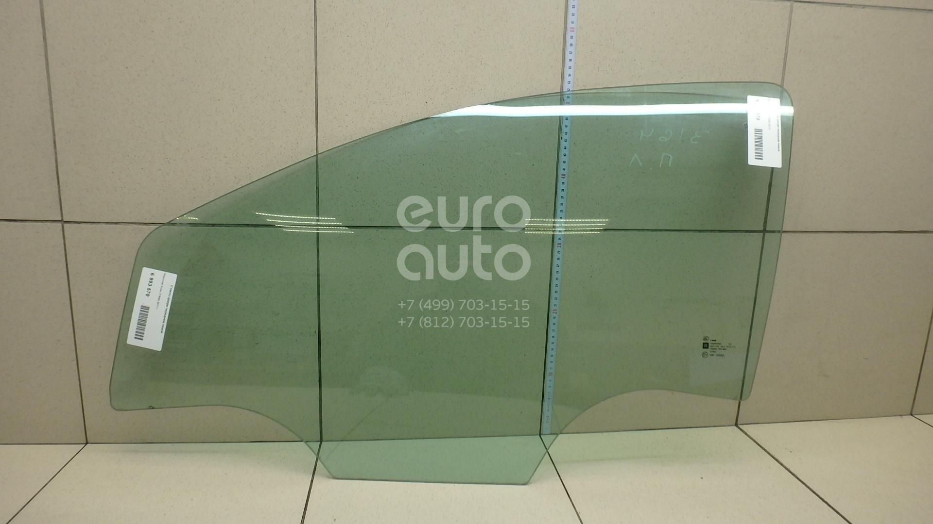 Купить Стекло двери передней левой Chevrolet Aveo (T300) 2011-; (95229720)