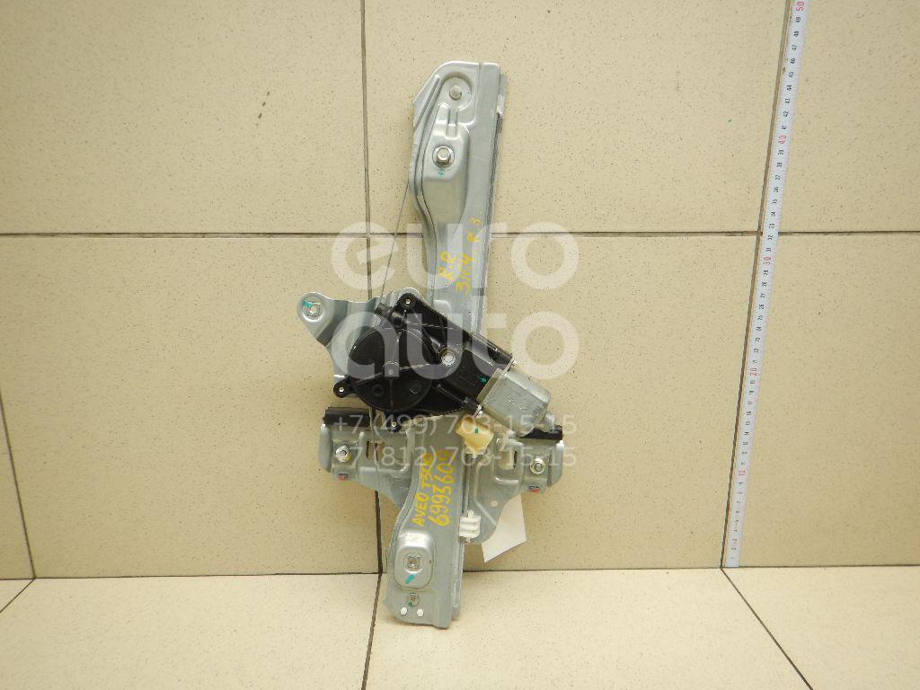 Стеклоподъемник электр. задний правый Chevrolet Aveo (T300) 2011-; (95391140)  - купить со скидкой