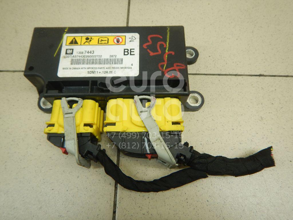 Купить Блок управления AIR BAG Opel Antara 2007-2015; (13587443)