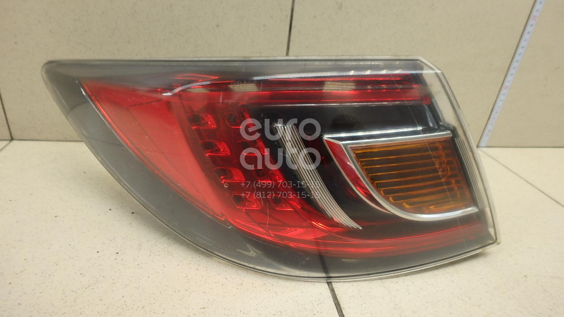 Купить Фонарь задний наружный левый Mazda Mazda 6 (GH) 2007-2012; (GS1F51160K)