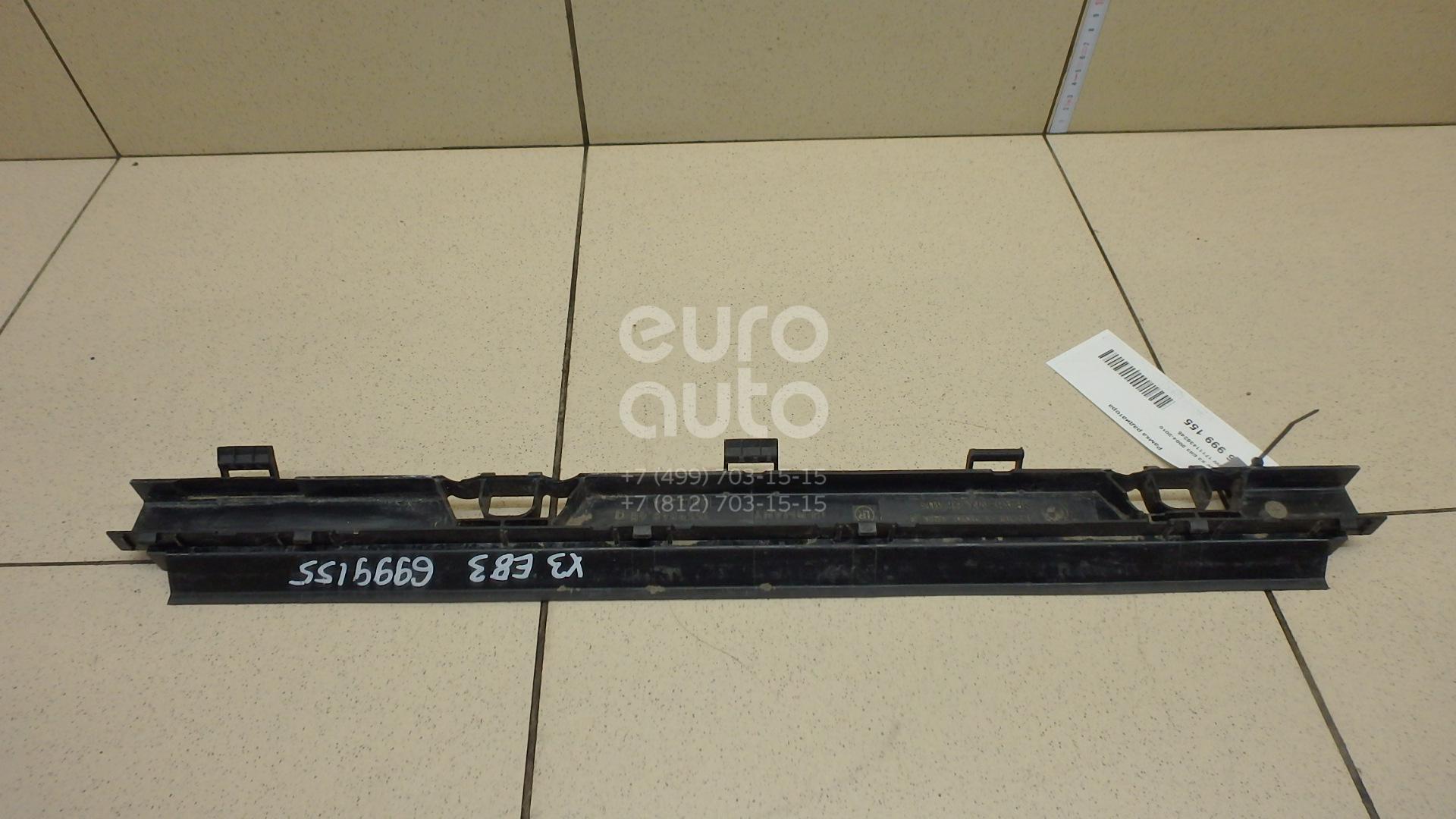 Купить Рамка радиатора BMW X3 E83 2004-2010; (17111436245)