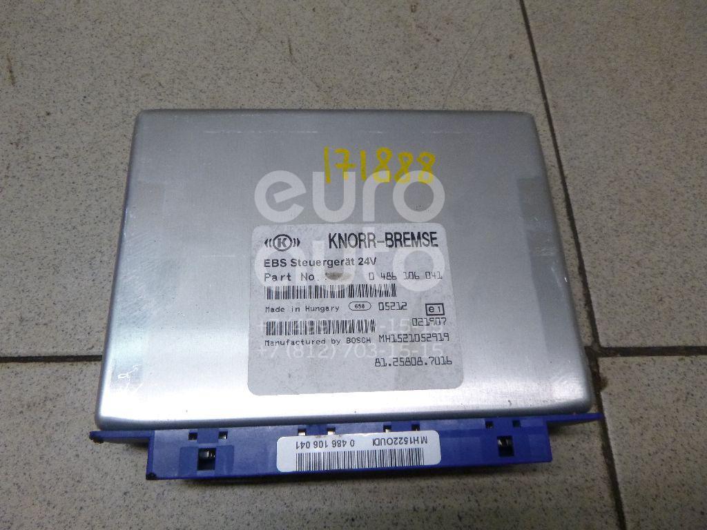 Купить Блок управления ABS MAN 4-Serie TGA 2000-2008; (81.25808.7016)