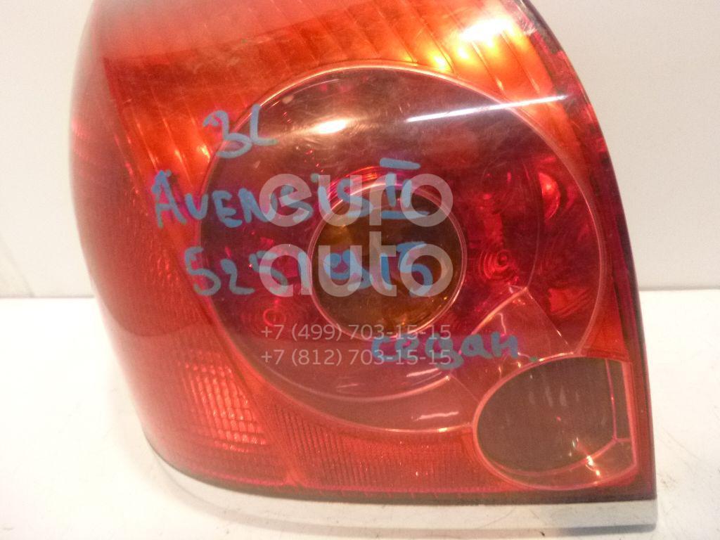Купить Фонарь задний левый Toyota Avensis II 2003-2008; (8156105200)