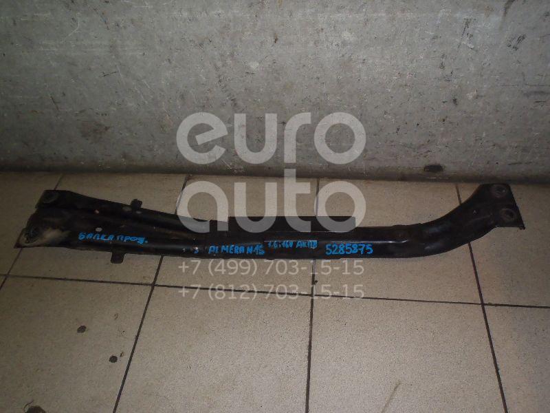 Балка передняя продольная Nissan Almera N15 1995-2000; (112401N100)  - купить со скидкой