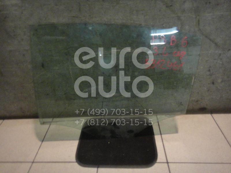 Стекло двери задней левой VW Passat [B6] 2005-2010; (3C5845025)  - купить со скидкой