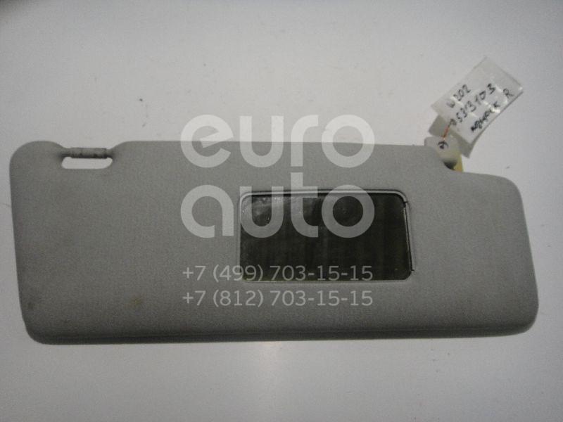 Купить Козырек солнцезащитный (внутри) Mercedes Benz W202 1993-2000; (2108100810)