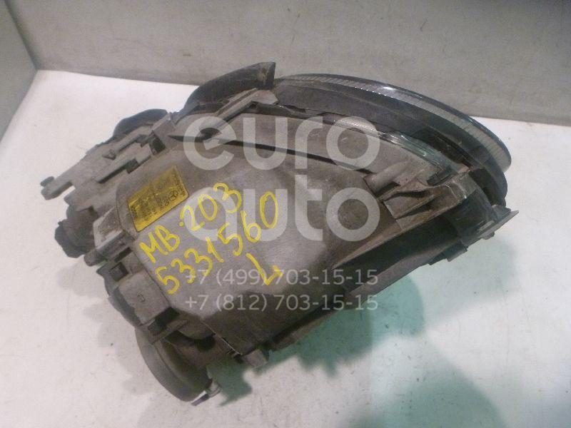 Купить Фара левая Mercedes Benz W203 2000-2006; (2038200161)