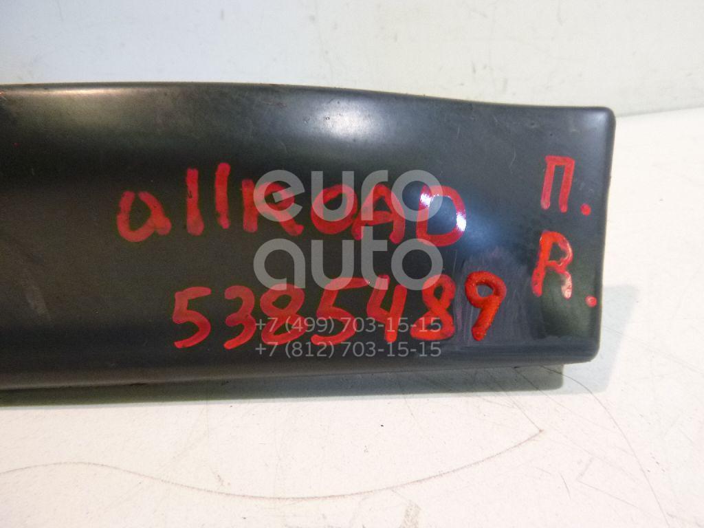 Молдинг передней правой двери Audi Allroad quattro 2000-2005; (4Z7853960)  - купить со скидкой