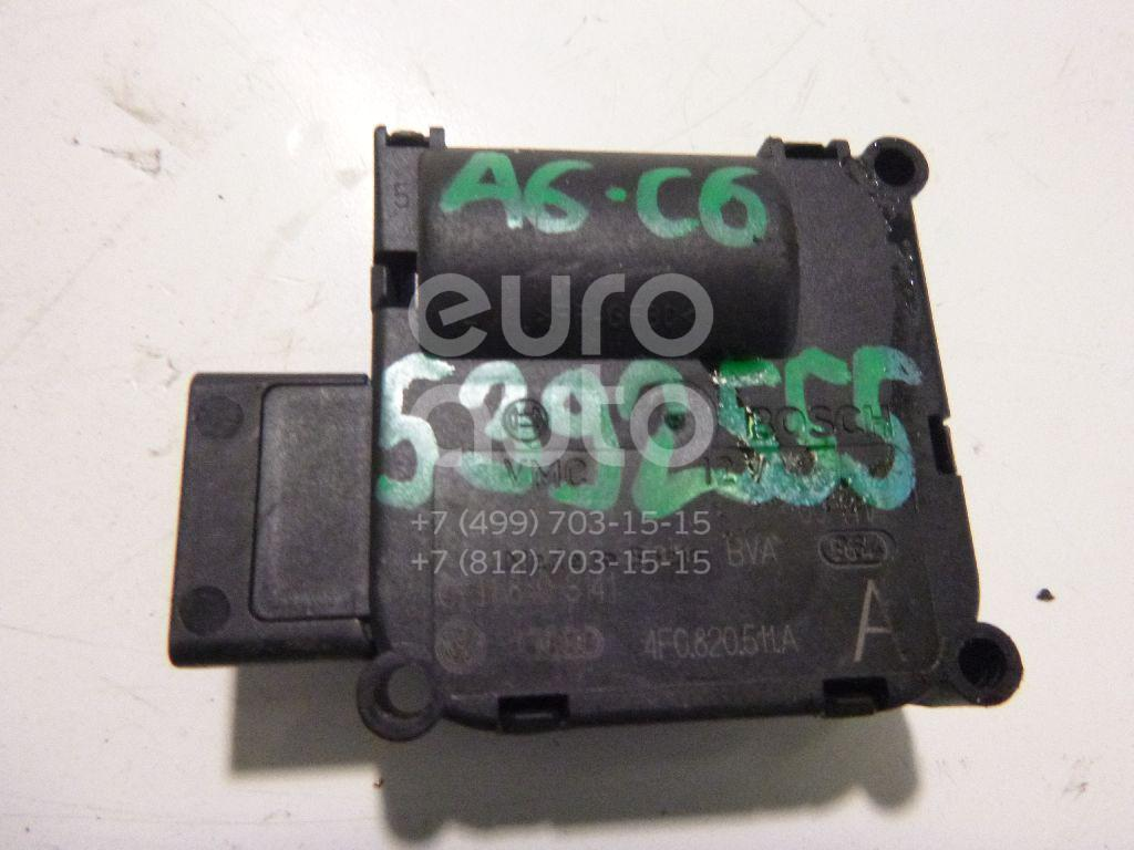 Моторчик заслонки отопителя Audi A6 [C6,4F] 2004-2011; (4F0820511A)