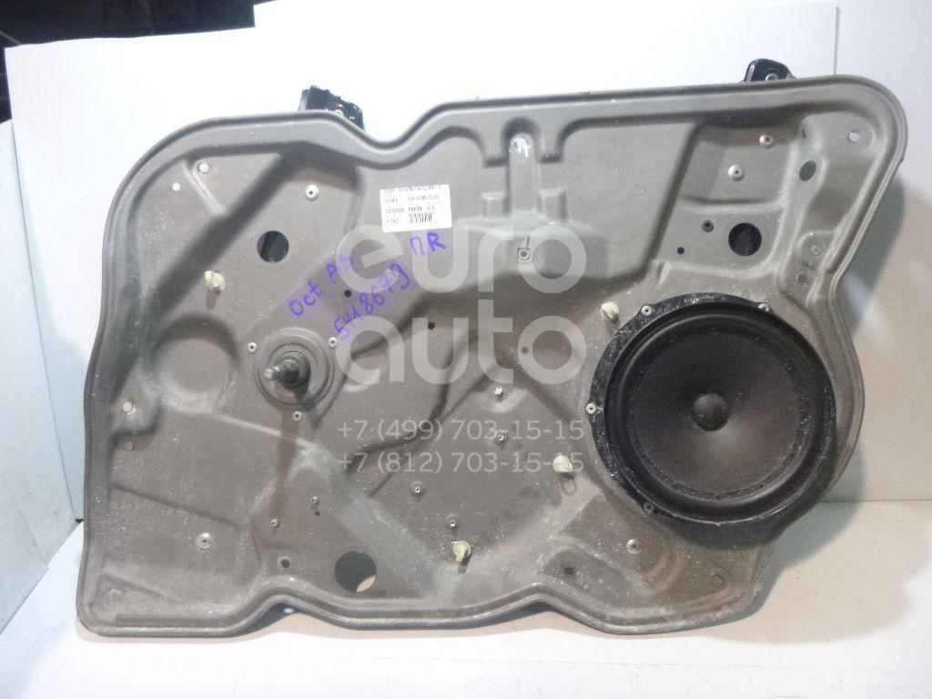 Стеклоподъемник механ. передний правый Skoda Octavia (A5 1Z-) 2004-2013; (1Z0837656)  - купить со скидкой
