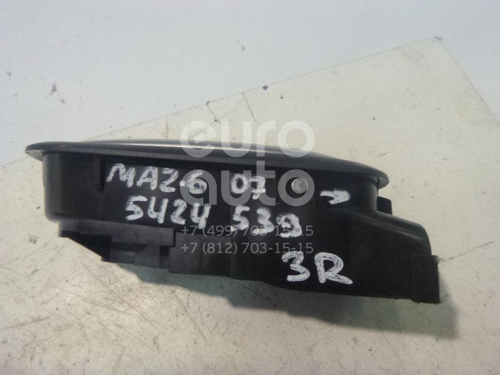 Ручка двери задней внутренняя правая Mazda Mazda 6 (GH) 2007-2012; (GS1D72330C02)