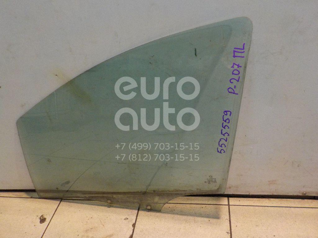 Стекло двери передней левой для Peugeot 207 2006-2013 - Фото №1