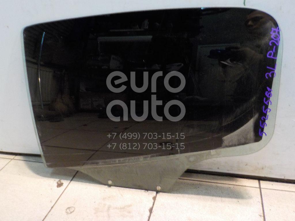 Стекло двери задней левой для Peugeot 207 2006-2013 - Фото №1