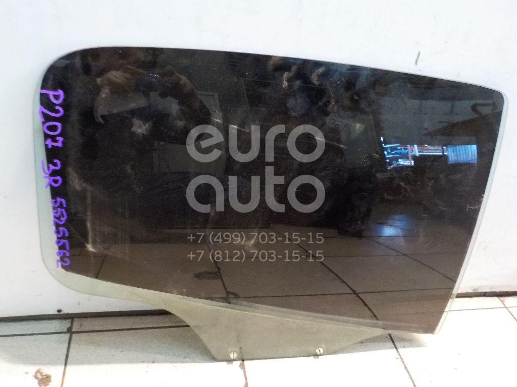 Стекло двери задней правой для Peugeot 207 2006-2013 - Фото №1