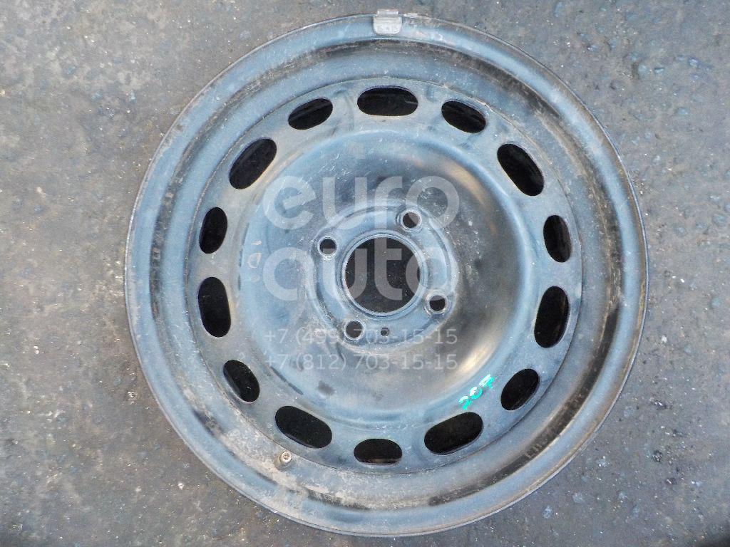 Диск колесный железо для Peugeot,Citroen 207 2006-2013;208 2012>;301 2013>;C-Elysee 2012> - Фото №1