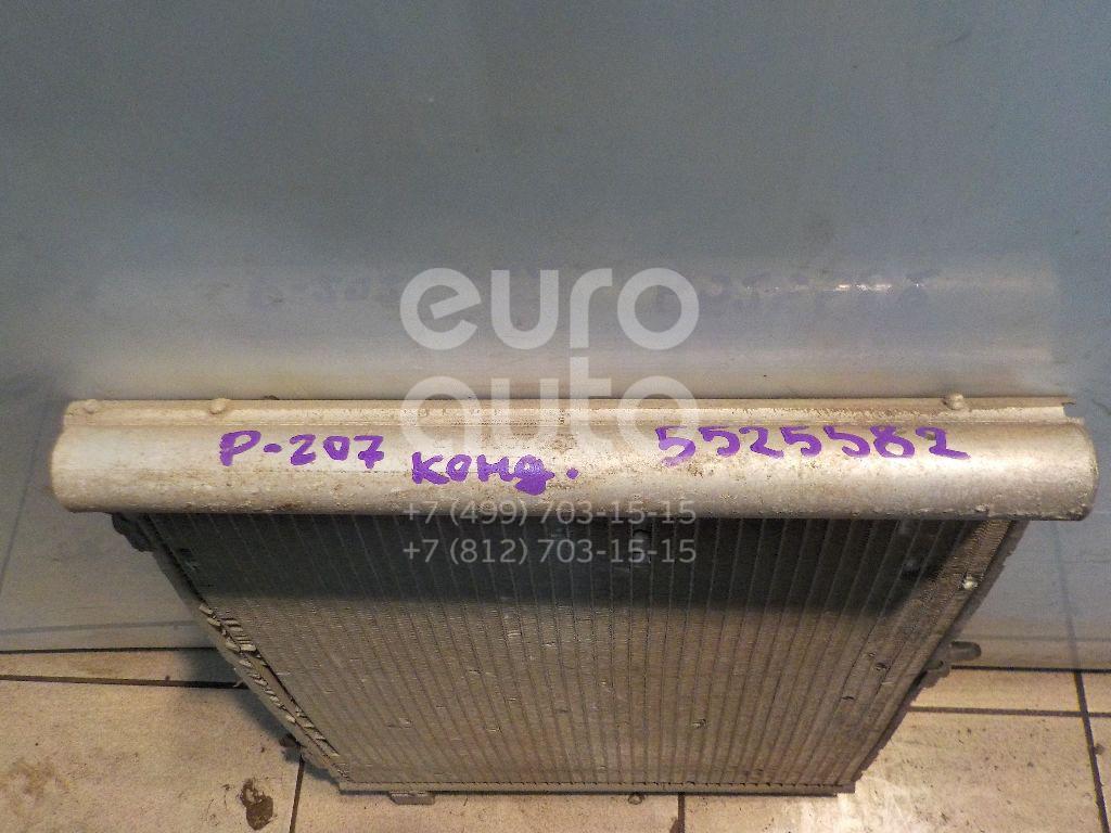 Радиатор кондиционера (конденсер) для Citroen 207 2006>;C2 2003>;1007 2005>;C3 2002-2009 - Фото №1