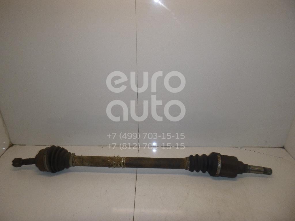 Полуось передняя правая для Peugeot 207 2006-2013 - Фото №1
