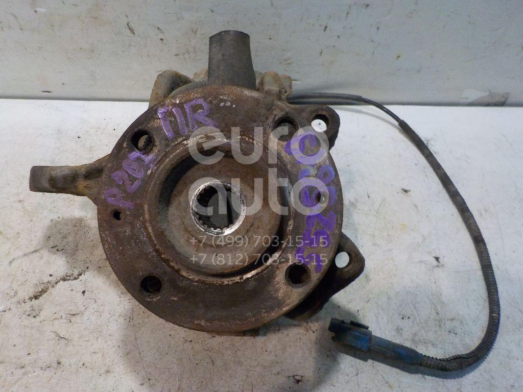 Кулак поворотный передний правый для Citroen 207 2006>;1007 2005>;C3 2002-2009 - Фото №1