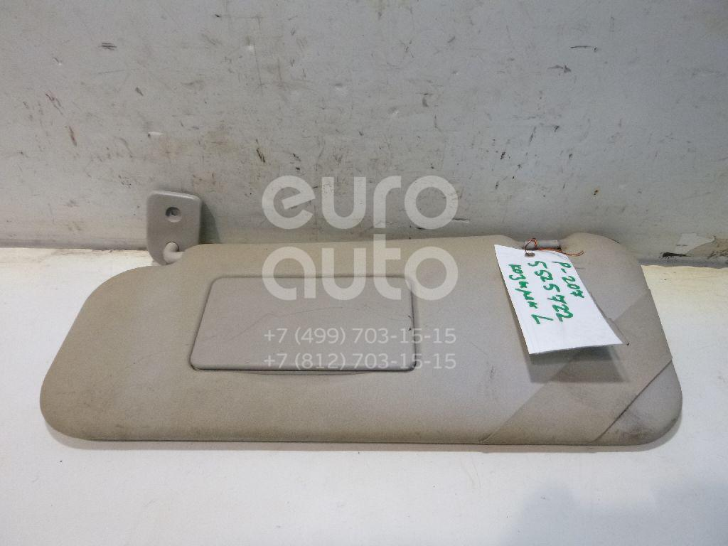 Козырек солнцезащитный (внутри) для Peugeot 207 2006-2013 - Фото №1