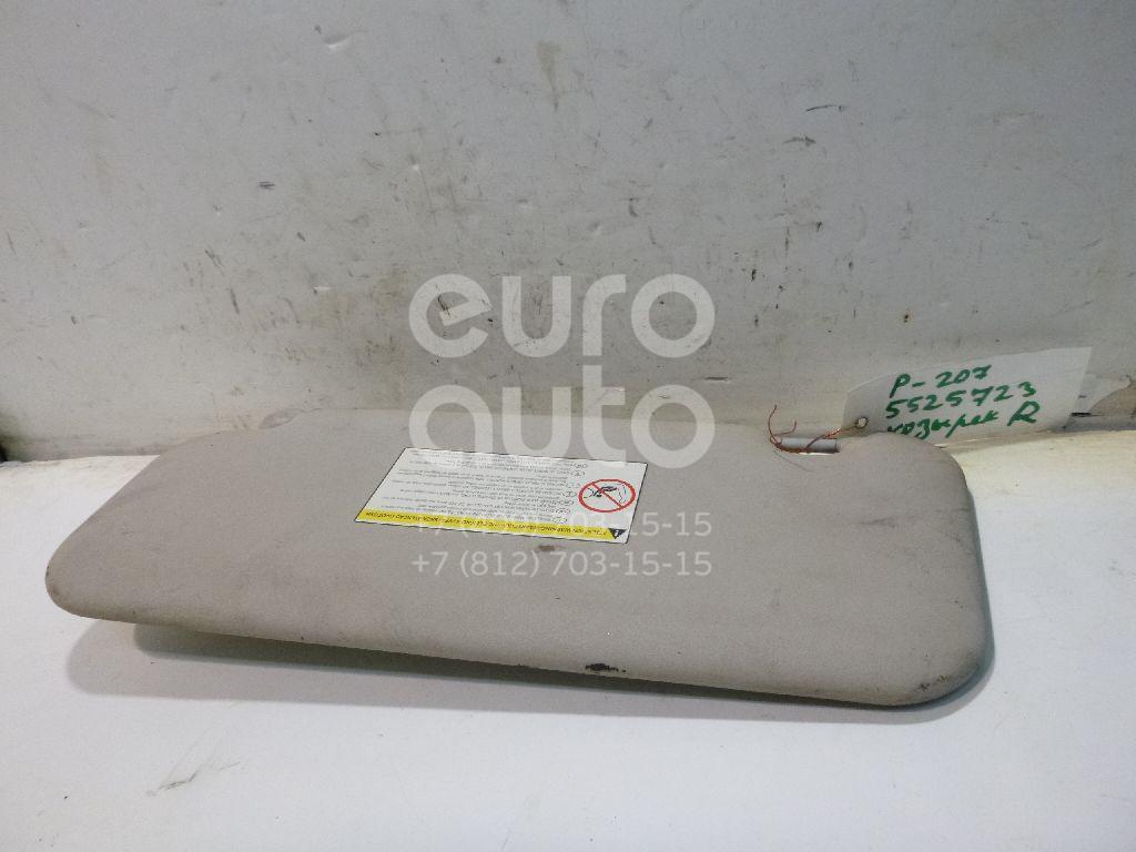 Козырек солнцезащитный (внутри) для Peugeot 207 2006> - Фото №1