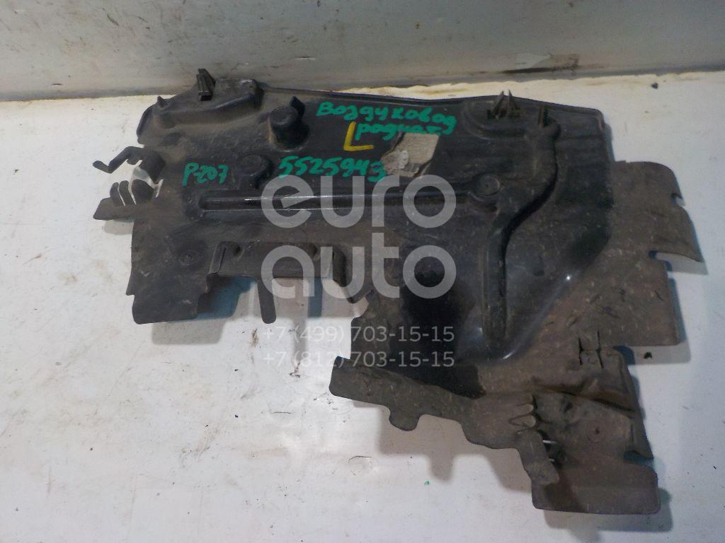 Воздуховод радиатора левый для Peugeot 207 2006-2013 - Фото №1