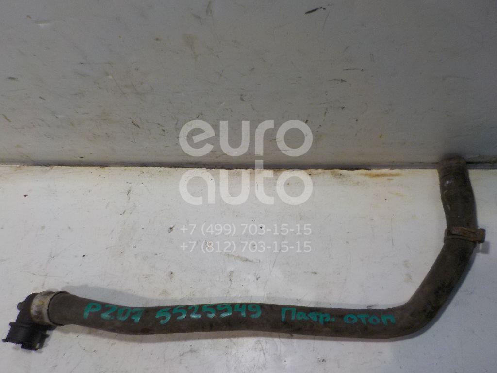 Патрубок отопителя для Peugeot,Citroen 207 2006-2013;C2 2003-2008;C3 2002-2009 - Фото №1