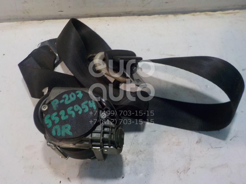 Ремень безопасности с пиропатроном для Peugeot 207 2006-2013 - Фото №1