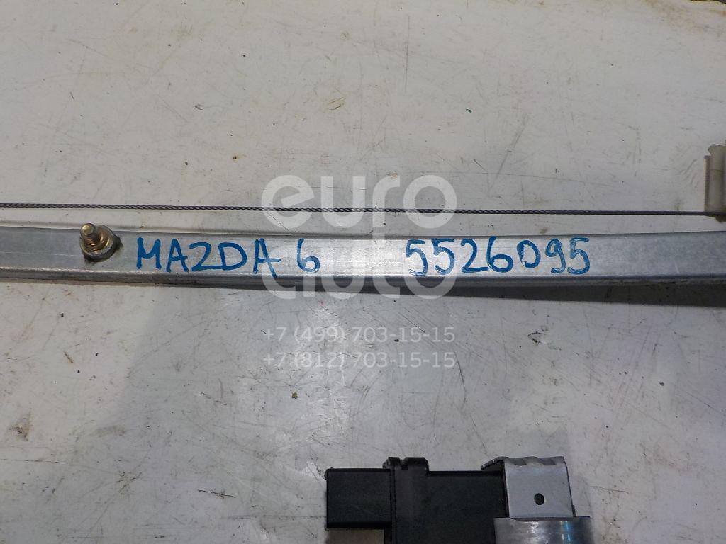 Стеклоподъемник электр. задний правый для Mazda Mazda 6 (GG) 2002-2007 - Фото №1