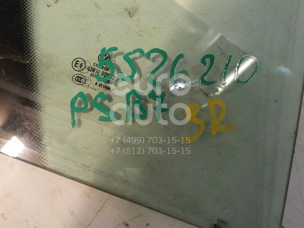 Стекло двери задней правой (форточка) для VW Passat [B7] 2011> - Фото №1
