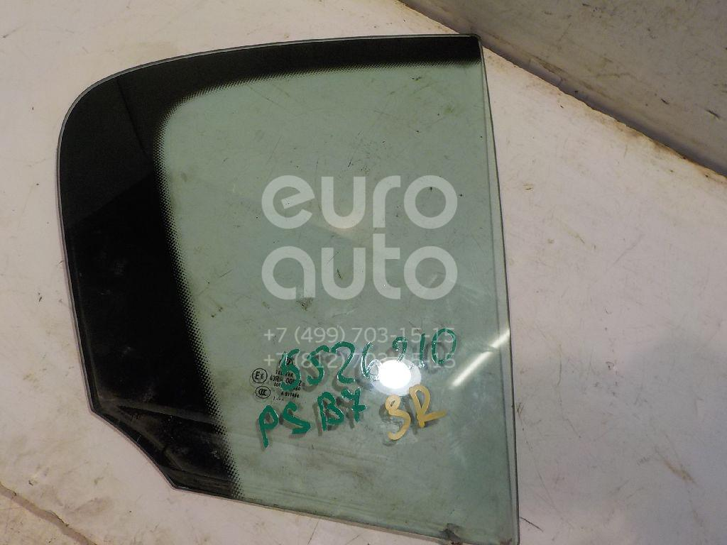 Стекло двери задней правой (форточка) для VW Passat [B7] 2011-2015 - Фото №1