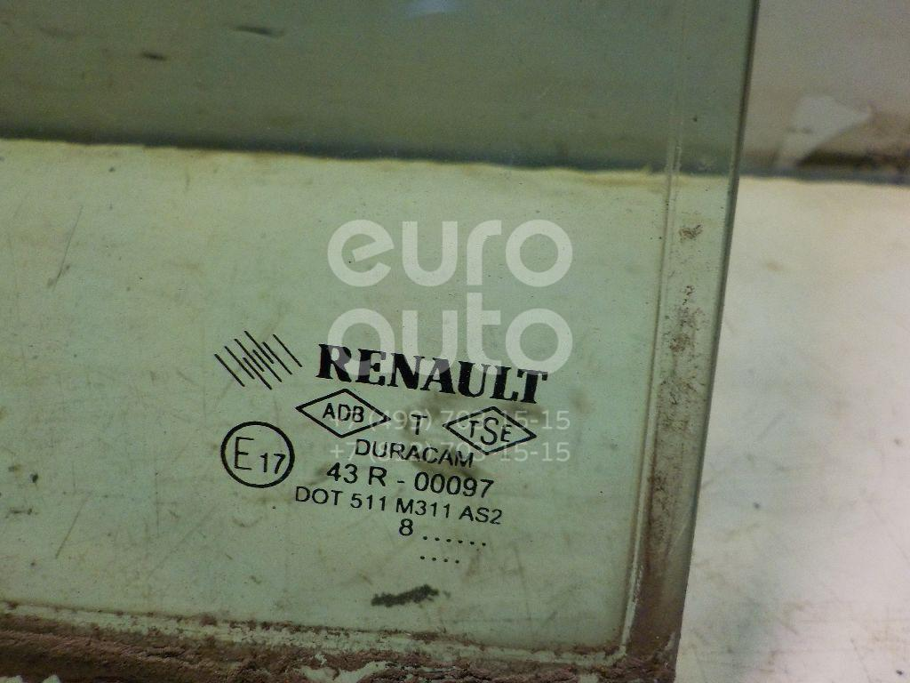Стекло двери задней правой (форточка) для Renault Symbol II 2008-2012 - Фото №1