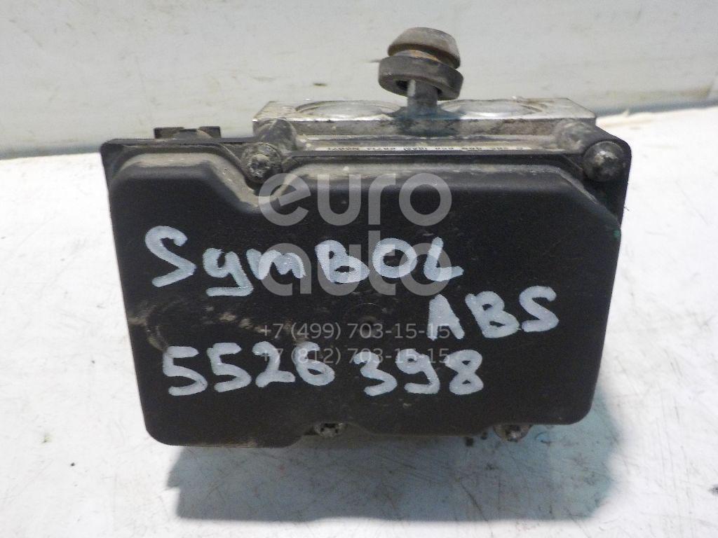Блок ABS (насос) для Renault Symbol II 2008-2012;Kangoo 2003-2007;Clio II/Symbol 1998-2008 - Фото №1