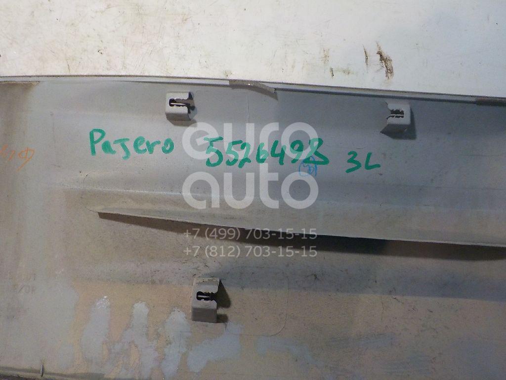 Накладка двери задней левой для Mitsubishi Pajero/Montero III (V6, V7) 2000-2006 - Фото №1