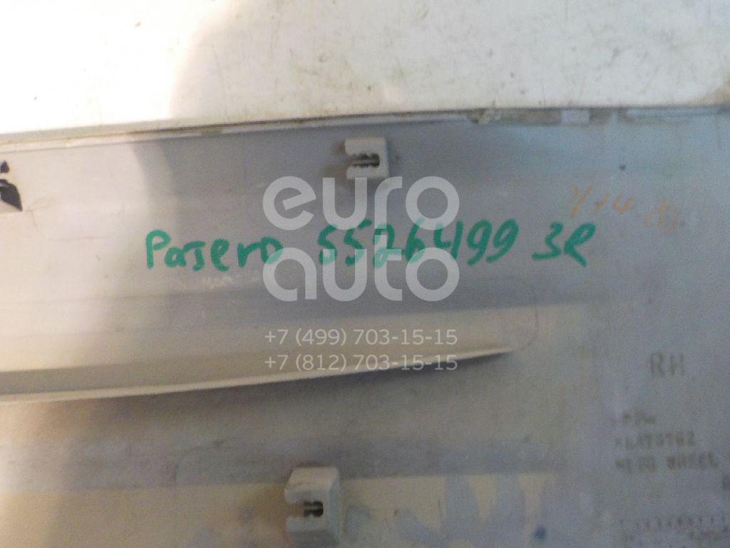 Накладка двери задней правой для Mitsubishi Pajero/Montero III (V6, V7) 2000-2006 - Фото №1